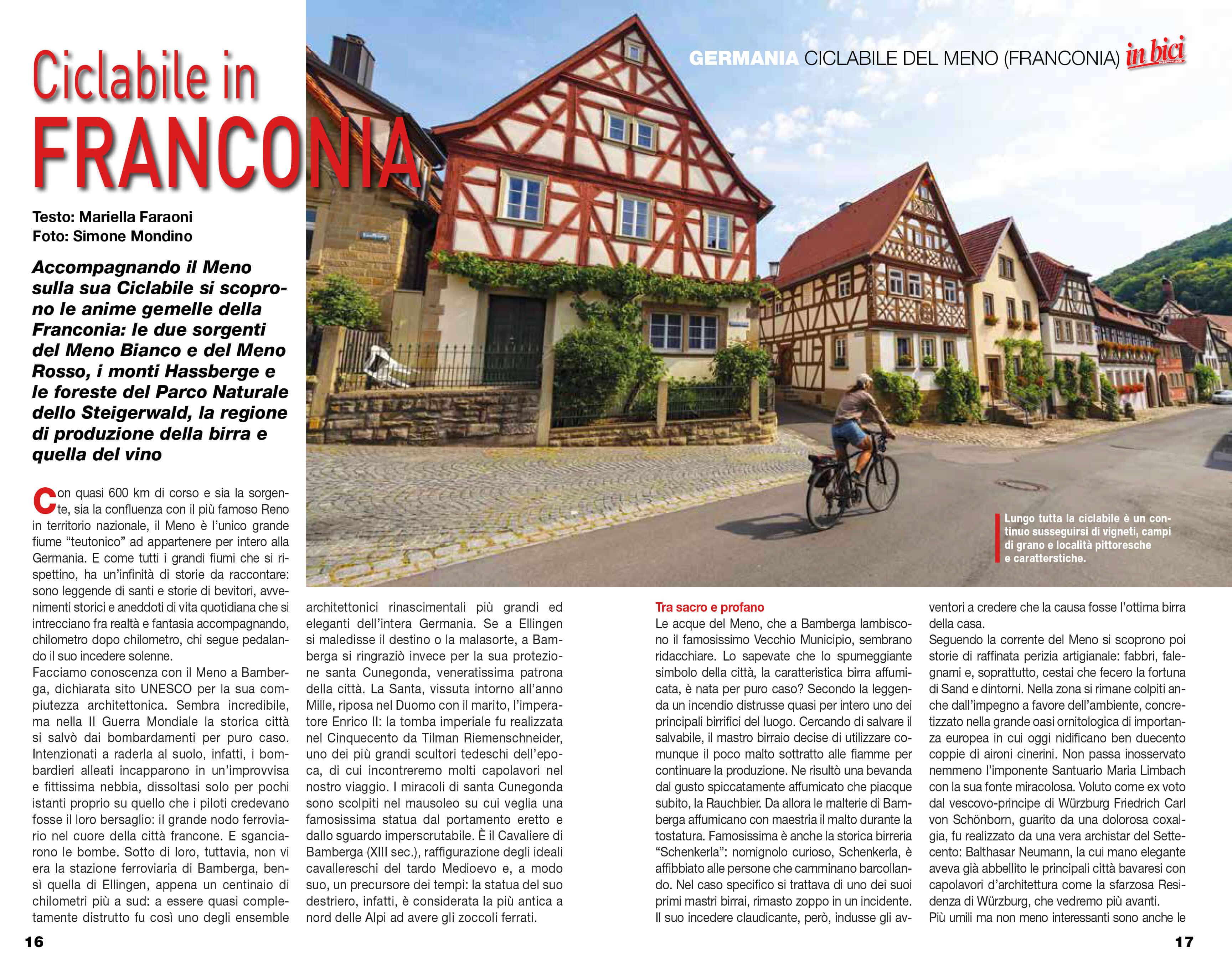 Itinerari e Luoghi - Franconia (speciale inBici)