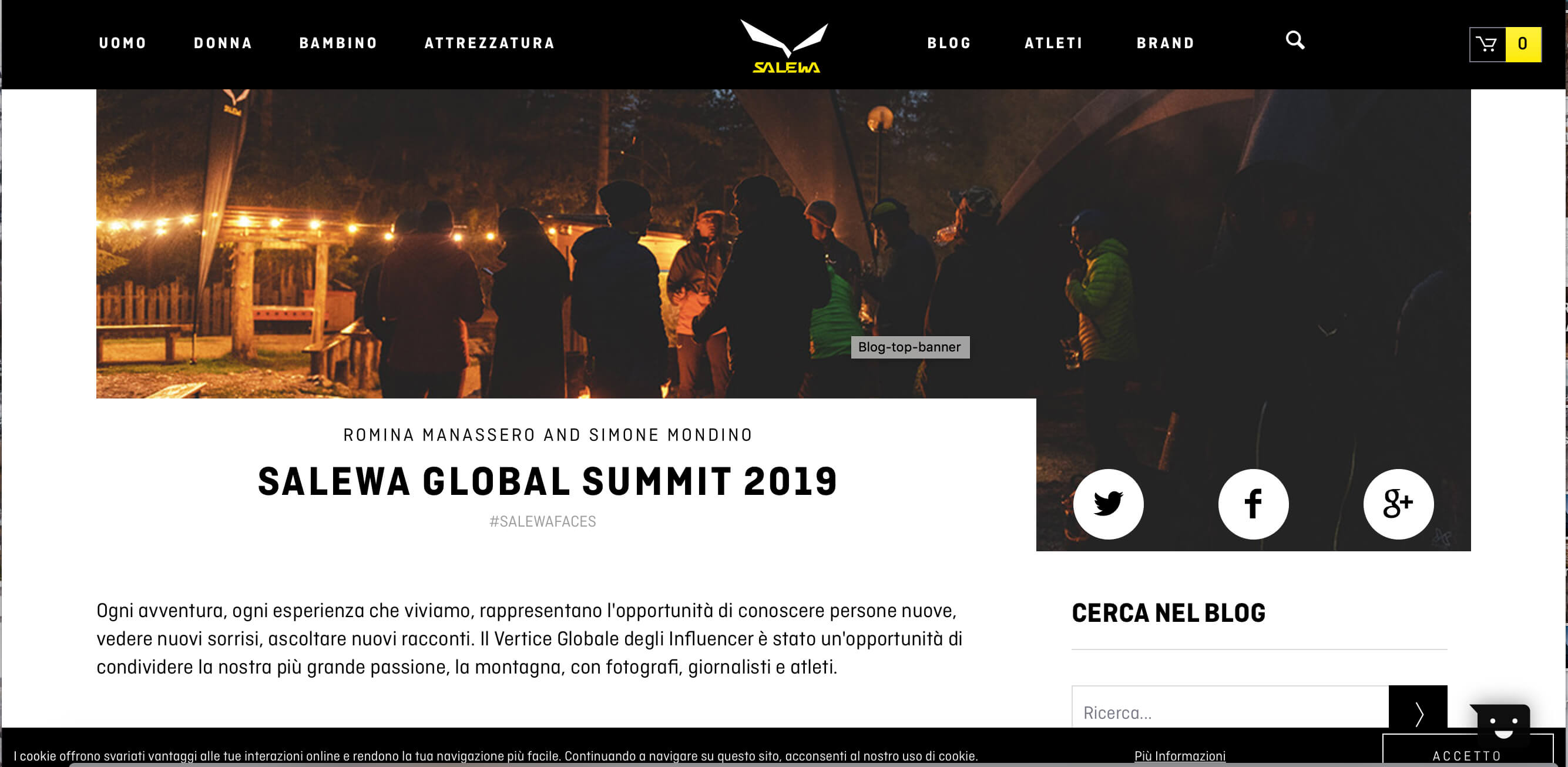 Salewa Summit Global