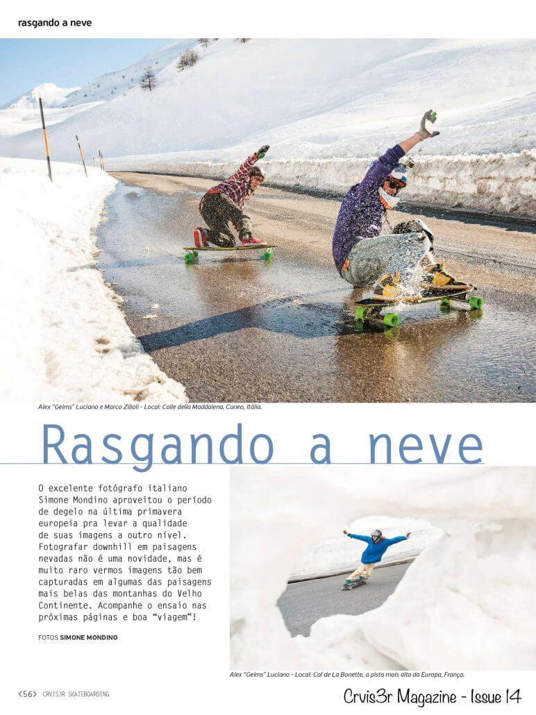 Rasgando a Neve - Crvis3r Mag