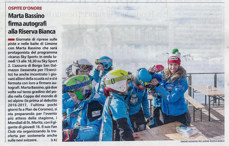 La Stampa - Marta Bassino